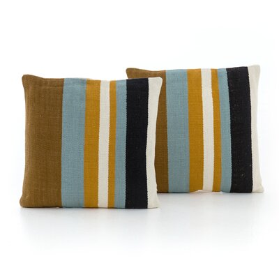 Natalee Multi Stripe Throw Pillow