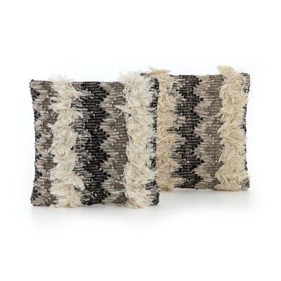 Richelieu Multi Fringe Throw Pillow