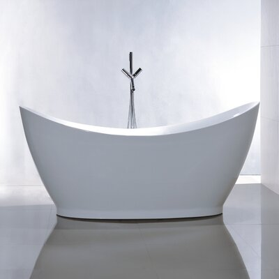 67.7 x 31.5 Soaking Bathtub