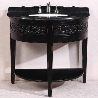 WH 41 Single Bathroom Vanity Set