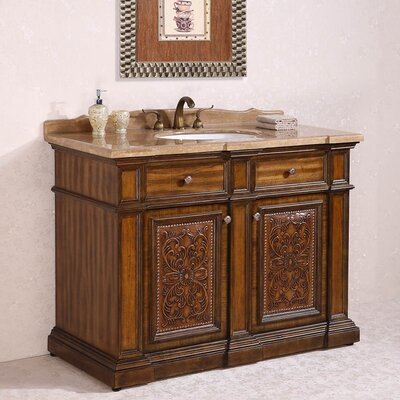 WH 48 Single Bathroom Vanity Set