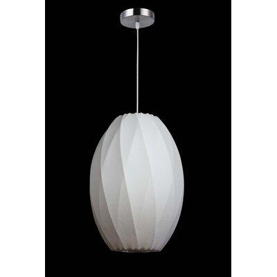 1-Light Mini Pendant Size: 13.5 H x 10 W x 10 D