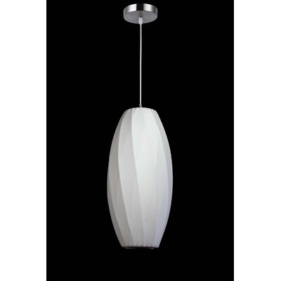 1-Light Mini Pendant Size: 19.5 H x 12 W x 12 D