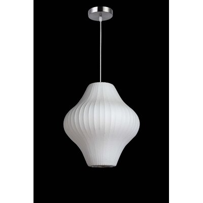 1-Light Mini Pendant Size: 19 H x 17 W x 17 D