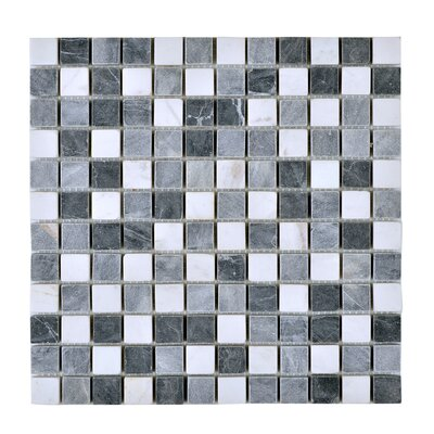 Engineered Stone Mosaic Tile in Gray