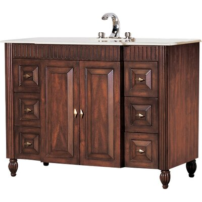 Windsor 48 Sink Chest Vanity Set