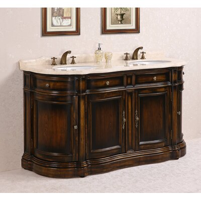 66 Double Bathroom Vanity Set