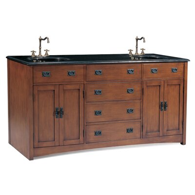 Ithaca 72 Double Chest Bathroom Vanity Set