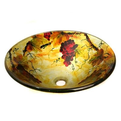 Bountiful Circular Vessel Bathroom Sink