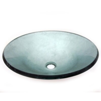Clouds Circular Vessel Bathroom Sink