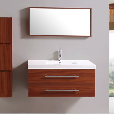 40 Single Vanity Set with Mirror