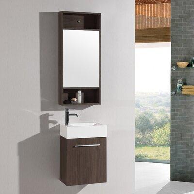 18 Single Vanity Set with Mirror