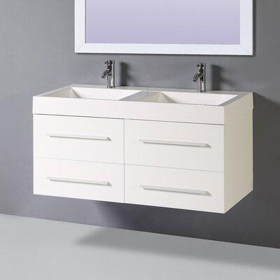 47 Double Vanity Set with Mirror