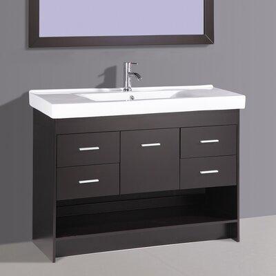 48 Single Vanity Set with Mirror
