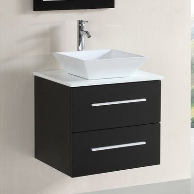 24 Single Vanity Set with Mirror