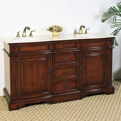 Hatherleigh 61 Double Chest Bathroom Vanity Set