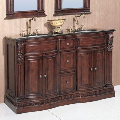 Willhelm 60 Double Chest Bathroom Vanity Set