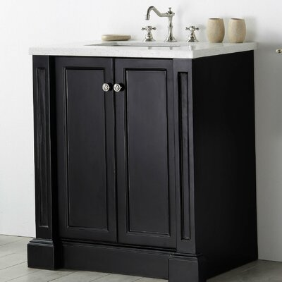 30 Single Vanity Set Base Finish: Espresso