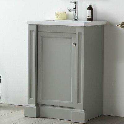 24 Single Vanity Setmateria Base Finish: Cool Gray