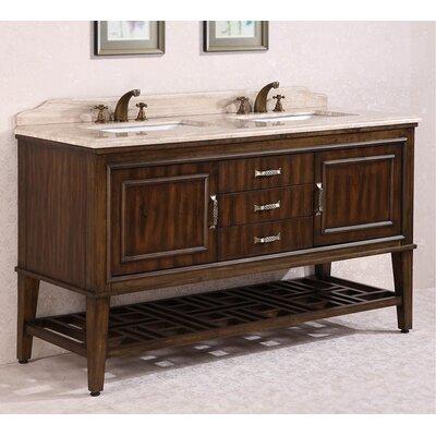 65 Double Bathroom Vanity Set