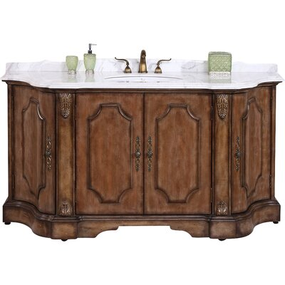 68 Single Bathroom Vanity Set