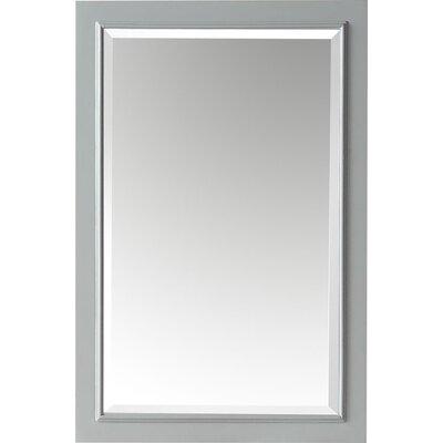 Andover Mills Rectangle Solid Wood Bathroom Vanity Mirror Andover