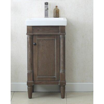 18 Single Sink Bathroom Vanity Set