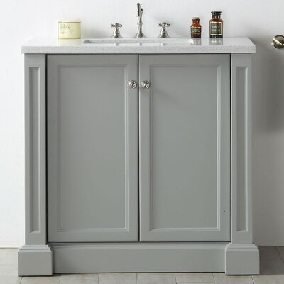 36 Single Vanity Set Base Finish: Cool Gray