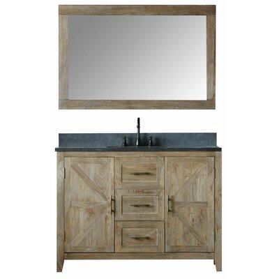 Alamo 48 Single Bathroom Vanity Set with Mirror