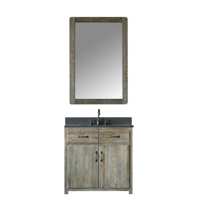 Alamo 36 Single Bathroom Vanity Set with Mirror