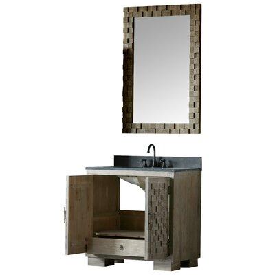 Claris 36 Single Bathroom Vanity Set with Mirror