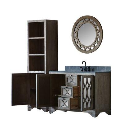 Medeiros Solid Elm 48 Single Bathroom Vanity Set with Mirror