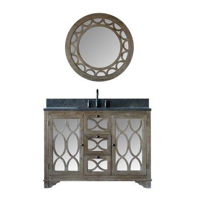 Bermuda Solid Elm 48 Single Bathroom Vanity Set with Mirror