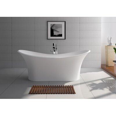 69 x 29.5 Freestanding Soaking Bathtub