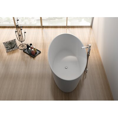 63 x 29.5 Freestanding Soaking Bathtub