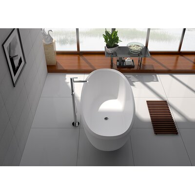 65 x 31.5 Freestanding Soaking Bathtub