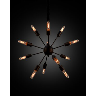 Frostia 12-Light Sputnik Chandelier
