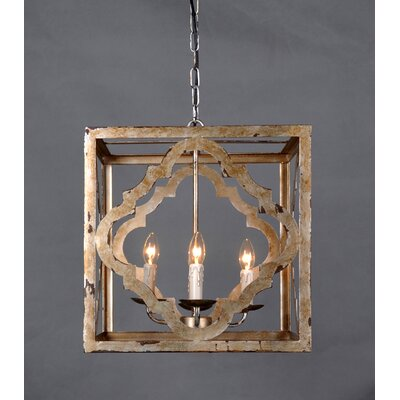 Acker 4-Light Mini Chandelier