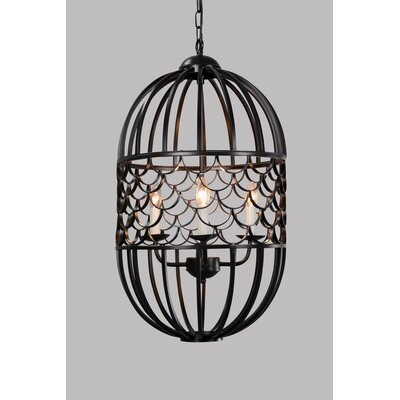 Tinsley 4-Light LED Foyer Pendant