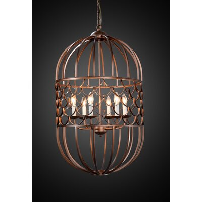 Thoreau 6-Light Candle-Style Chandelier