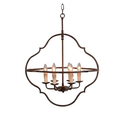 Bamey 6-Light Candle-Style Chandelier