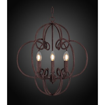 Therese 6-Light Candle-Style Chandelier