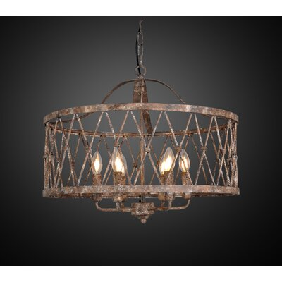 Parisa 6-Light Drum Chandelier