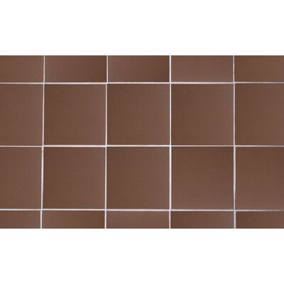 11.88 x 11.75 Terracotta Field Tile in Chocolate
