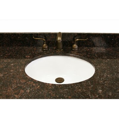 49 Single Bathroom Vanity Top Top Finish: Dark Tan Brown