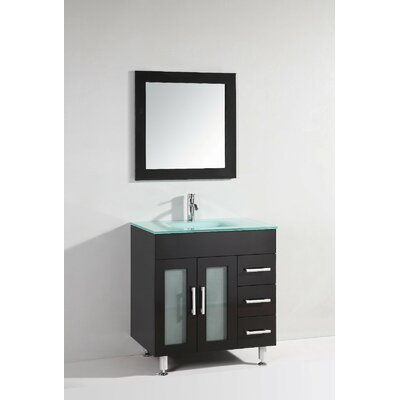 Nevarez 32 Single Bathroom Vanity Set with Mirror