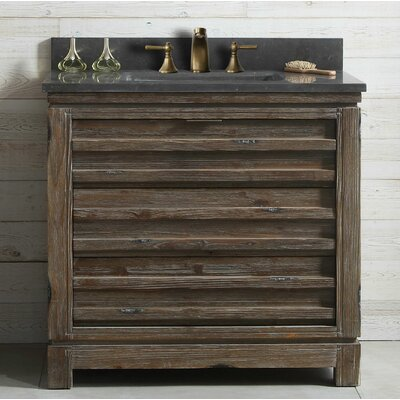 Dorida Wood 36 Single Bathroom Vanity Set