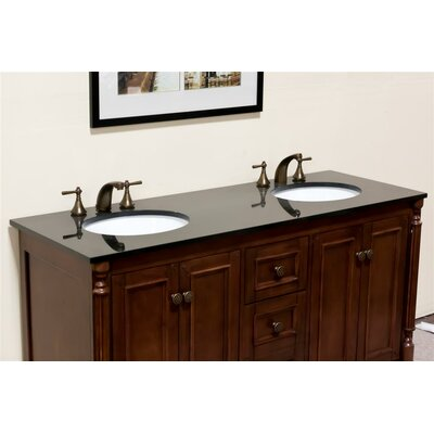 61 Double Bathroom Vanity Top