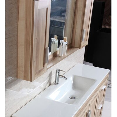 71 Single Bathroom Vanity Set with Mirror