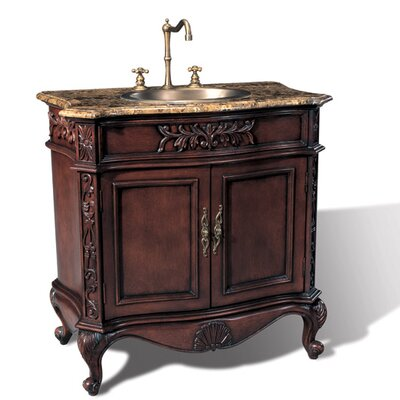 Hampshire 36 Single Chest Bathroom Vanity Set
